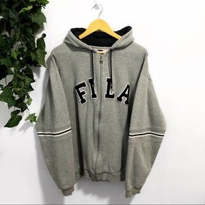 FILA Zip Up Sweater